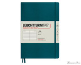 Leuchtturm1917 Softcover Notebook - A5, Lined - Pacific Green