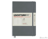 Leuchtturm1917 Softcover Notebook - A5, Lined - Anthracite