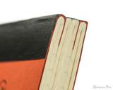 Life Noble Notebook - A5, Graph - Orange - Binding