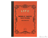 Life Noble Notebook - A5, Graph - Orange