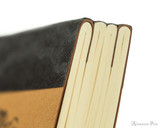 Life Noble Notebook - A5, Blank - Brown - Binding