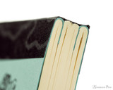 Life Noble Notebook - A5, Lined - Blue - Binding