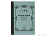 Life Noble Notebook - A7, Lined - Blue