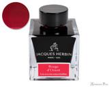 Jacques Herbin Rouge d'Orient Ink (50ml Bottle)