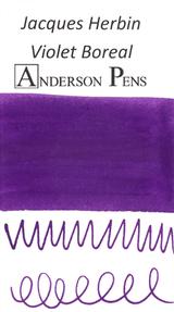 Jacques Herbin Violet Boreal Ink Sample (3ml Vial)