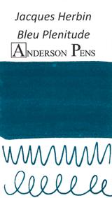 Jacques Herbin Bleu Plenitude Scented Ink Sample