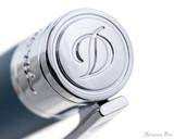 S.T. Dupont D-Initial Ballpoint - Shark Blue - Jewel