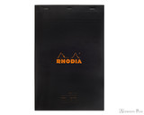 Rhodia No. 19 Staplebound Meeting Pad - A4+, Lined - Black