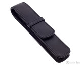 Girologio 1 Pen Case - Black Leather