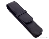 Girologio 1 Pen Case - Black Leather