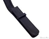 Girologio 1 Pen Case - Black Leather - Open