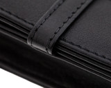 Girologio 1 Pen Case - Black Leather - Loop and Stitching