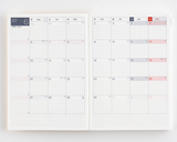Hobonichi 2022 Cousin Planner ONLY - A5 - Monthly