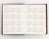 Hobonichi 5 Year Techo Planner ONLY - A6 - Yearly Calendars