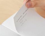 Hobonichi Memo Pad Set - A6 (3 Pack) - Detail