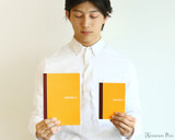 Hobonichi Plain Notebooks - A6 - In Hand Comparison Two