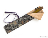 Taccia Kimono Nishijin Pen Wrap - Single, Mosaic - Open