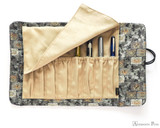 Taccia Kimono Pen Roll - 8 Pen, Mosaic - Inside