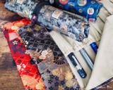 Taccia Kimono Pen Roll - 8 Pen, Mosaic - Beauty