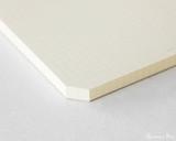 Midori MD Notepad - A4, Graph - Cream - Corner