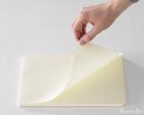 Midori MD Notepad - A4, Graph - Cream - Page Turn
