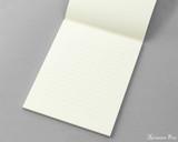 Midori MD Letter Pad - 6.6 x 8.2, Lined - Cream - Open