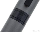 Sheaffer 300 Fountain Pen - Matte Gray with Black Trim - Trimband