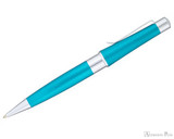 Cross Beverly Ballpoint - Translucent Teal - Profile