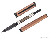 Sheaffer Intensity Fountain Pen - Engraved Bronze with Black Trim - Parted Out