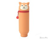 Punilabo Silicone Pen Case - Shiba Dog