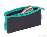ProFolio Midtown Small Pouch - Black and Wintergreen - Full