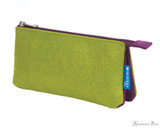 ProFolio Midtown Small Pouch - Green with Purple
