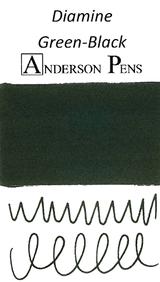 Diamine Green-Black Ink Sample (3ml Vial)