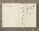 Midori MD 10th Anniversary Notebook - A5, Line with Margin - Open Photo