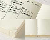 Midori MD Notebook Journal Codex - A5, Dot Grid - Ivory - Detail