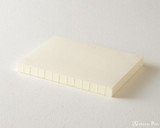 Midori MD Notebook Journal Codex - A5, Dot Grid - Ivory - Side