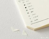 Midori MD Notebook Journal Codex - A5, Dot Grid - Ivory - Corner
