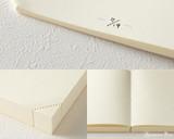 Midori MD Notebook Journal Codex - A5, Blank - Ivory - Detail