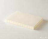 Midori MD Notebook Journal Codex - A5, Blank - Ivory - Side