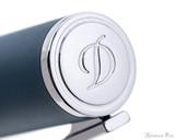 S.T. Dupont D-Initial Fountain Pen - Shark Blue -
