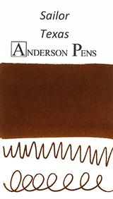 Sailor US 50 State Ink Series - Texas Ink Sample (3ml Vial)