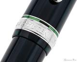 Platinum 3776 Century Fountain Pen - Laurel Green with Rhodium Trim - Trimband