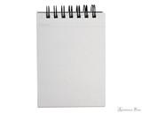 Maruman Mnemosyne N185A Notebook - A7, Blank - Open