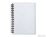 Maruman Mnemosyne N197A Notebook - A6, Lined - Open