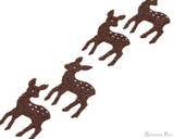 Midori Letter Writing Set with Animal Stickers - Deer -