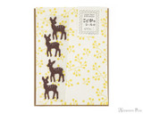 Midori Letter Writing Set with Animal Stickers - Deer
