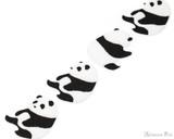 Midori Letter Writing Set with Animal Stickers - Panda - Stickers