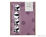 Midori Letter Writing Set with Animal Stickers - Panda
