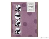 Midori Letter Writing Set with Animal Stickers - Panda