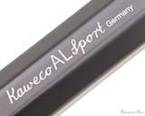 Kaweco AL Sport Ballpoint - Grey - Imprint
